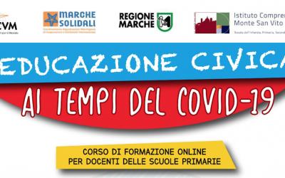 """""""Educazione Civica ai tempi del Covid-19"""" – Corso di formazione online per docenti delle scuole primarie"""