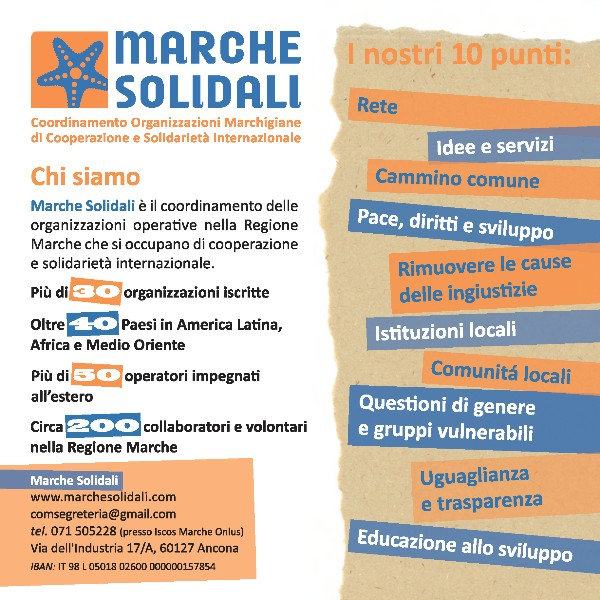 Scarica la cartolina di presentazione di Marche solidali