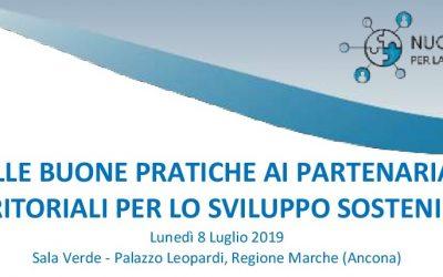 """Seminario """"Dalle Buone Pratiche ai Partenariati Territoriali per lo Sviluppo Sostenibile"""""""