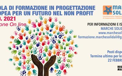 SCUOLA DI FORMAZIONE IN PROGETTAZIONE EUROPEA PER UN FUTURO NEL NON PROFIT – IX Edizione