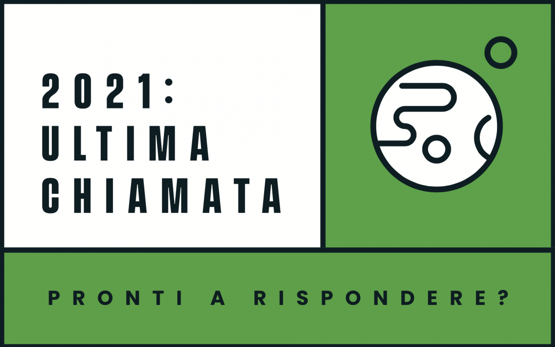 """#2021Ultimachiamata: Pronti a rispondere?"" – Evento finale!"
